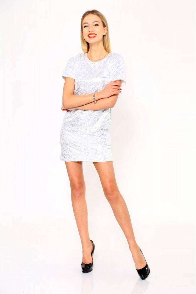 Платье женское цвет Серебристый