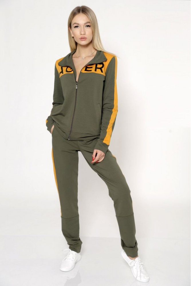 Спорт костюм женский цвет Хаки