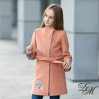 Кашемировое пальто для девочки «Мина» демисезонное