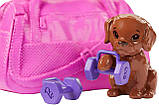 Барби йога безграничные движения шарнирная Barbie Made to Move Fitness Doll Бабрі йога фітнес, фото 3