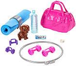 Барби йога безграничные движения шарнирная Barbie Made to Move Fitness Doll Бабрі йога фітнес, фото 2