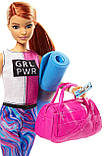 Барби йога безграничные движения шарнирная Barbie Made to Move Fitness Doll Бабрі йога фітнес, фото 5