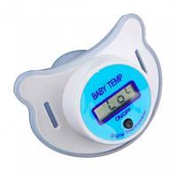 Цифровой термометр в виде соски (Голубой), фото 1