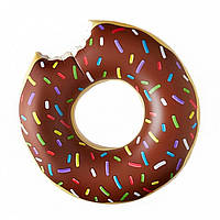 Надувной круг Пончик Brown 120см, фото 1