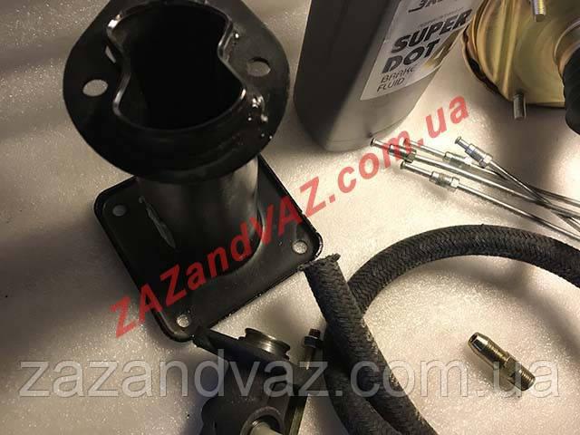 Вакуумная система усилителя тормозов (вакуумник) Таврия 1102 Славута 1103 полный
