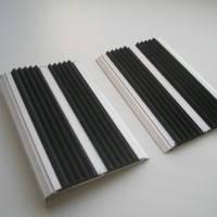 Противоскользящие двойные 80мм накладки на ступени, фото 1