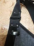 Барсетка GREAT-TOWN слинг на грудь Отличное качество Оксфорд ткань 1000D спортивные для через плечо(ОПТ), фото 6