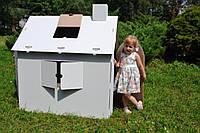 Картонный домик раскраска, фото 1