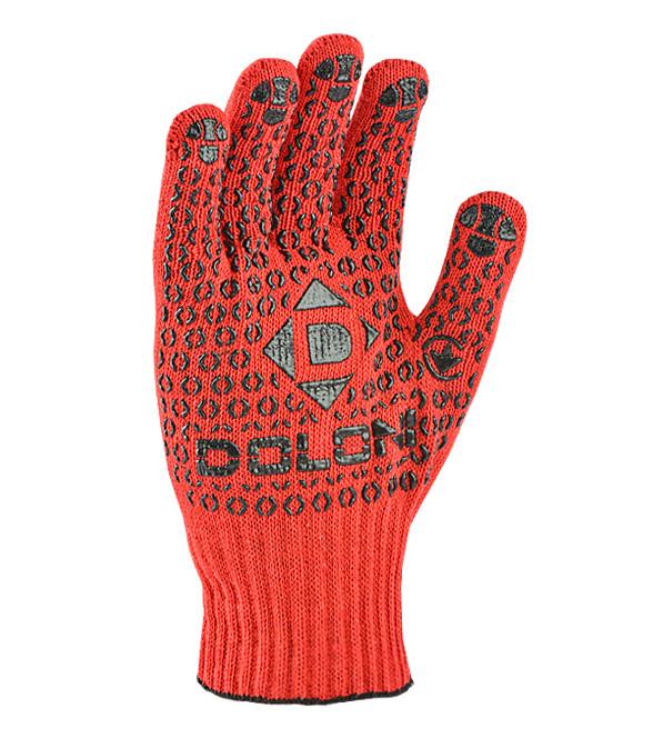 Перчатки рабочие DOLONI с ПВХ (11 размер)