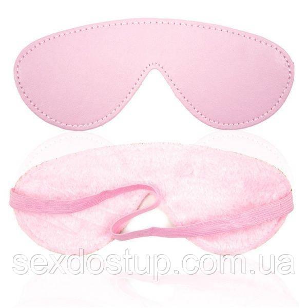 Нежная розовая маска