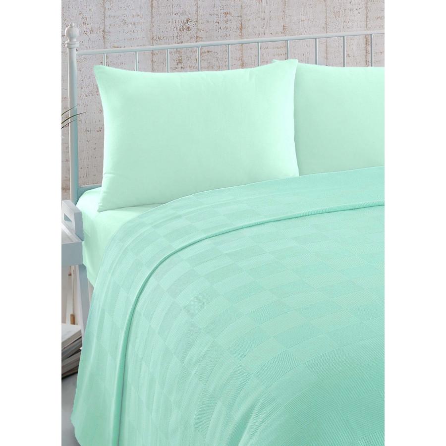 Постельное белье Eponj Home Pike - Last Lavie suyesil зеленый евро