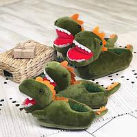Детские домашние тапочки Динозавр, фото 1