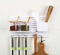 Мультифункциональный настенный органайзер для кухни,ванной,мелочей, фото 1