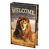Книги сейф Лев с кодовым замком 26 см