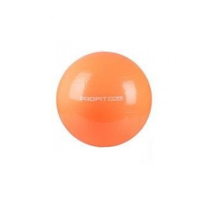 Фитбол, мяч для фитнеса Profit 75 см, MS 0383 Оранжевый