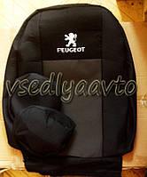 Авточехлы для PEUGEOT 301 (5 подголовников)