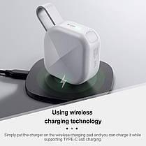 Whizzer B6 White TWS Беспроводные Наушники с Микрофоном, фото 3