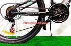 Подростковый велосипед Azimut Tornado 24 D серо-красный, фото 2
