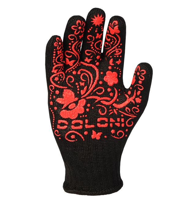 Перчатки рабочие DOLONI женские  с ПВХ