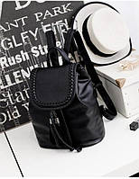 Рюкзак женский плетеный 25х15х28 см, фото 1