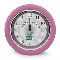 Часы идут в обратную сторону Anti-clock (розовый)