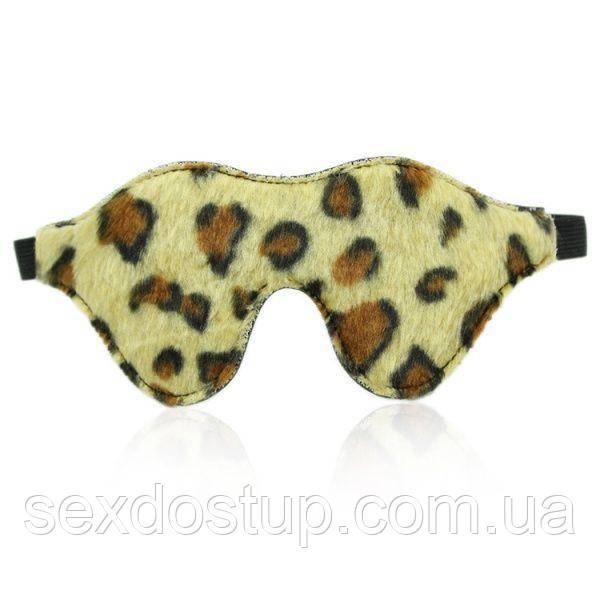 Леопардовая ночная маска