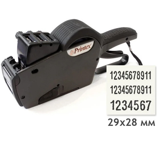 Этикет-пистолет Printex 2928 (11-11-7) (трёхстрочный)