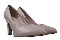 Туфли женские Geronea натуральная кожа, цвет бежевый.