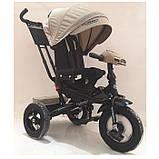 Детский Трехколесный велосипед 4060HA-7L Бежевый лён, фото 6