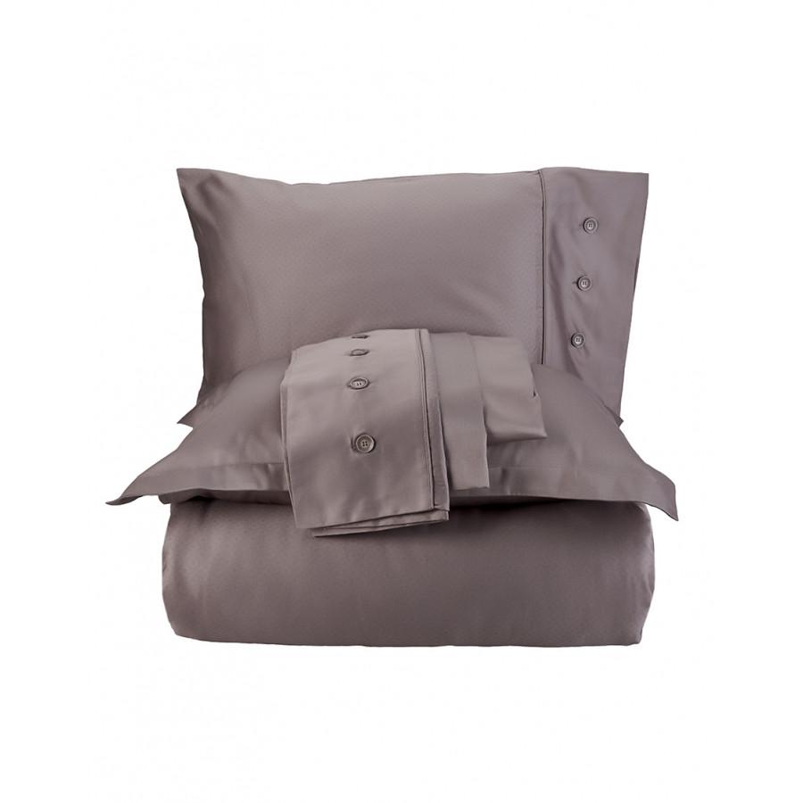 Постельное белье Karaca Home сатин - Infinity vizon 2020-1 кофе евро