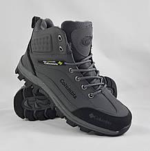 Ботинки ЗИМА-МЕХ Мужские Коламбиа Серые (размеры: 41) Видео Обзор