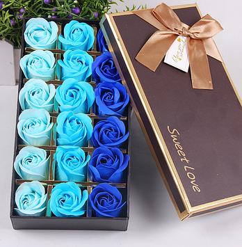 Мыло из роз Цветы из мыла Подарок девушке Подарок жене Подарки для девушки Подарок на 14 февраля