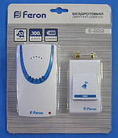Звонок дверной Feron E-222 беспроводной
