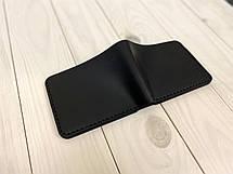 Кожаный кошелек мужской Goose™ Montis G0044 черный без монетницы, фото 2