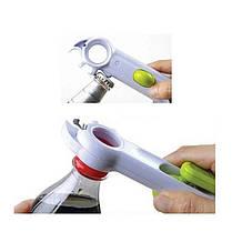 Универсальная открывалка - консервный нож 6 в 1, фото 2