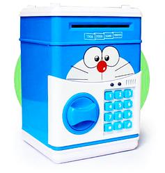 Копилка сейф с кодовым замком и купюроприемником Piggy Bank SAFE, для бумажных денег и монет