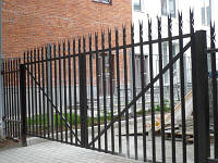 Ворота металлические Одесса