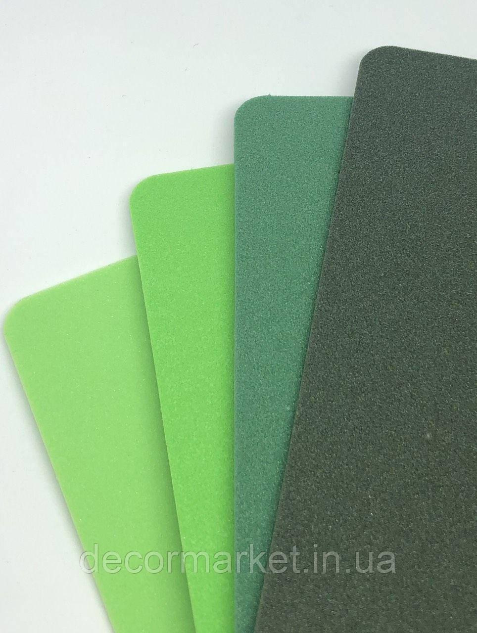 Фоамиран ЕВА 2мм темно-зеленый лист 1,50х1м