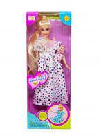 """Кукла """"Defa. Беременная"""" (платье в горошок) 6001"""
