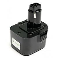 Аккумулятор к электроинструменту PowerPlant для DeWALT GD-DE-12 12V 2.5Ah NIMH(DE9074) (DV00PT0034), фото 1