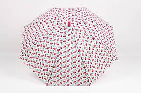 Дитячі парасолі FAMO Парасолька дитячий Совушки білий Діаметр купола 116.0(см)/ Довжина спиці 48.0(см)/ Довжина в складеному вигляді 66.0(см) (RST071) #L/A