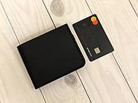 Мужской кошелек из натуральной кожи Goose™ Montis G0045 черный с монетницей, фото 1