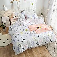 Комплект постельного белья Травы на лугу (двуспальный-евро) Berni