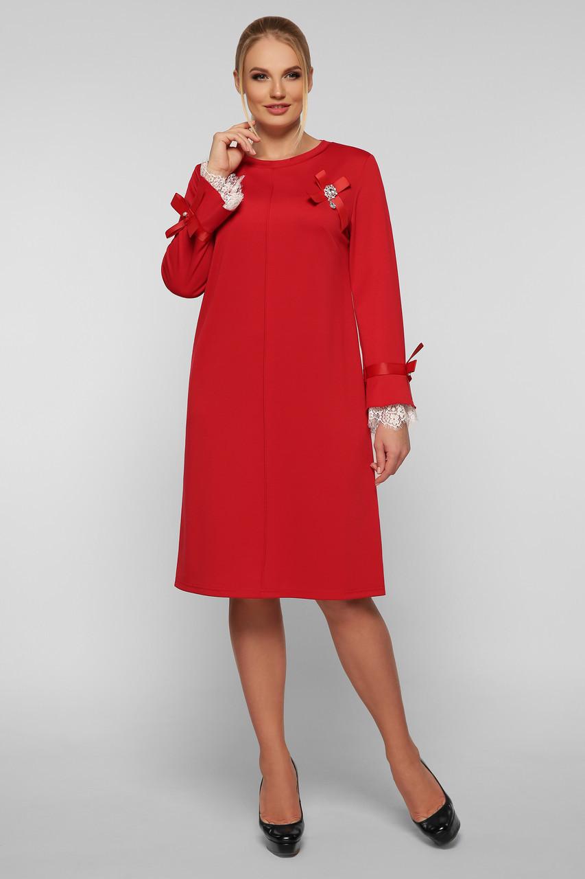 Платье женское Майя красное