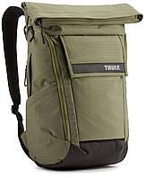 Городской рюкзак с отделение для ноутбука Thule Paramount Backpack 24L Olivine (оливковый), фото 1