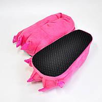 Розовые тёплые тапки для костюма кигуруми