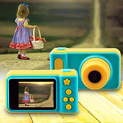 Детский фотоаппарат Baby Insta pro V7 kids camera, с экраном 2,0 дюйма, два цвета
