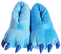 Голубые тапки-лапки
