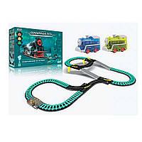 Железная дорога SW7313 425 см. с 2 паровозами - детский игровой набор