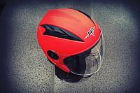 Шлем открытый BLD №-218 Bailide red  / matt